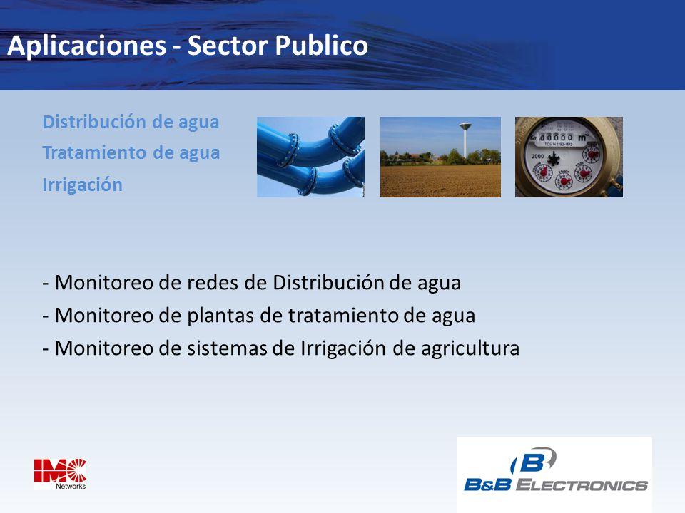 Aplicaciones - Sector Publico