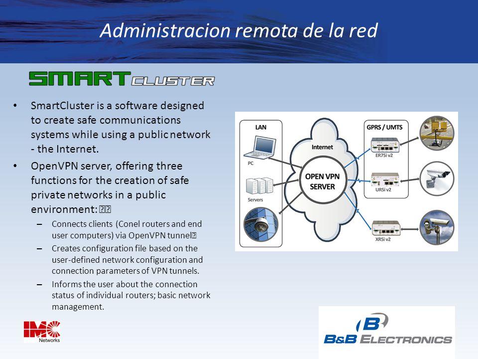 Administracion remota de la red