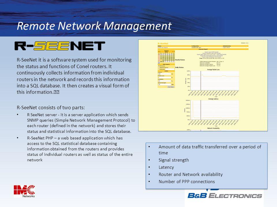 Remote Network Management