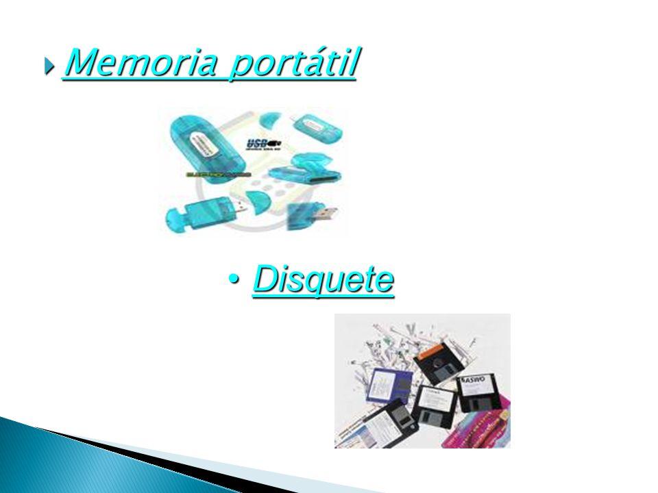 Memoria portátil Disquete