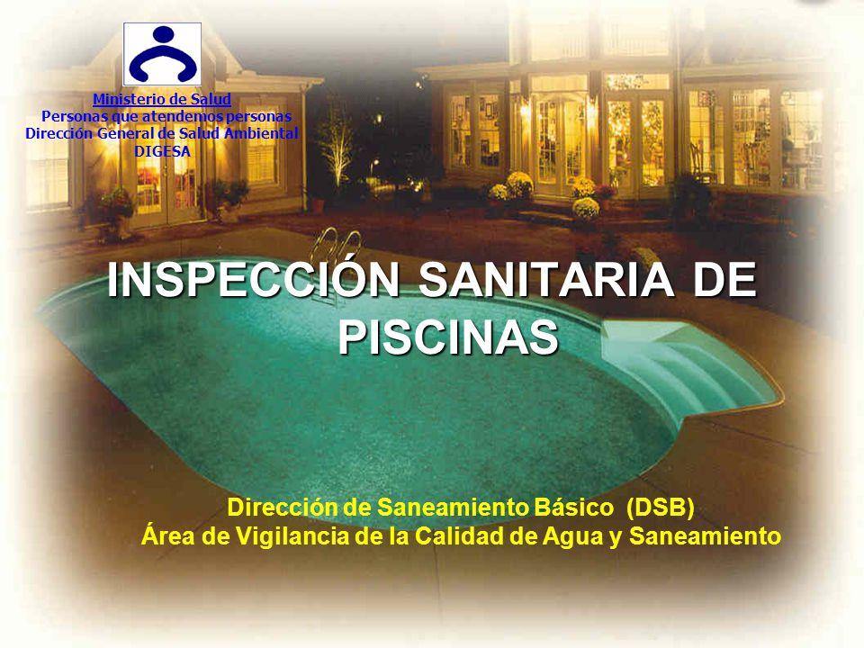 INSPECCIÓN SANITARIA DE PISCINAS