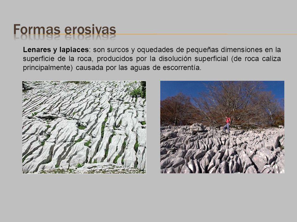 Formas erosivas