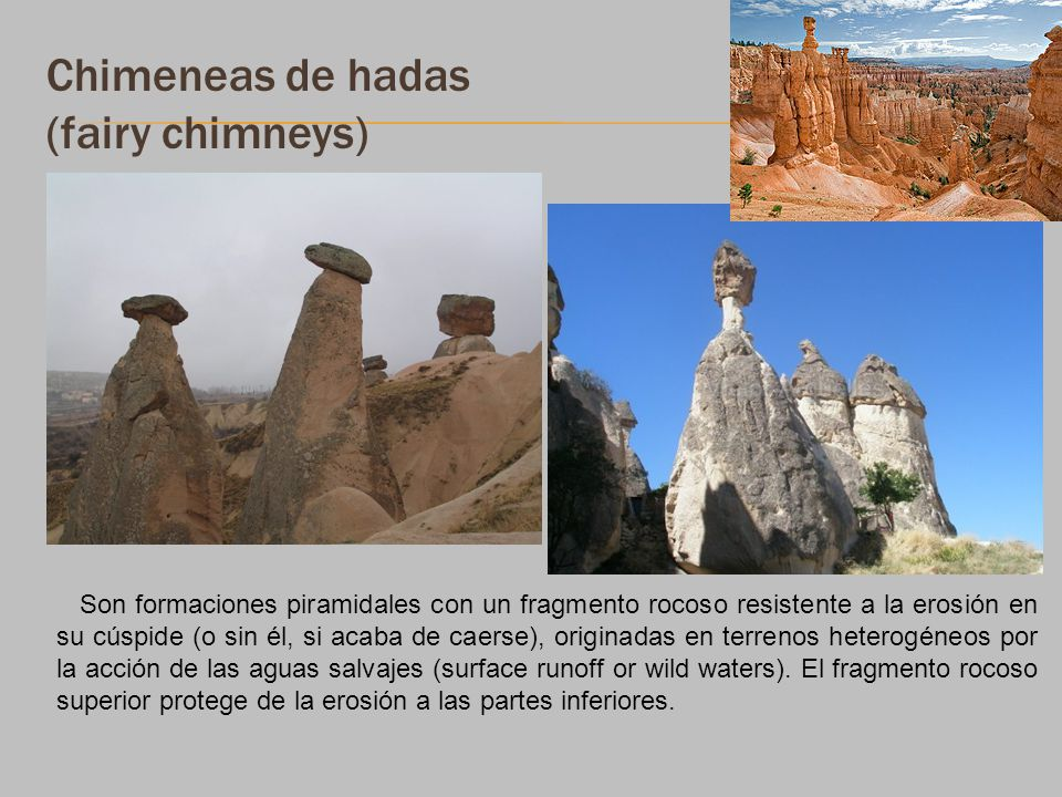 Chimeneas de hadas (fairy chimneys)