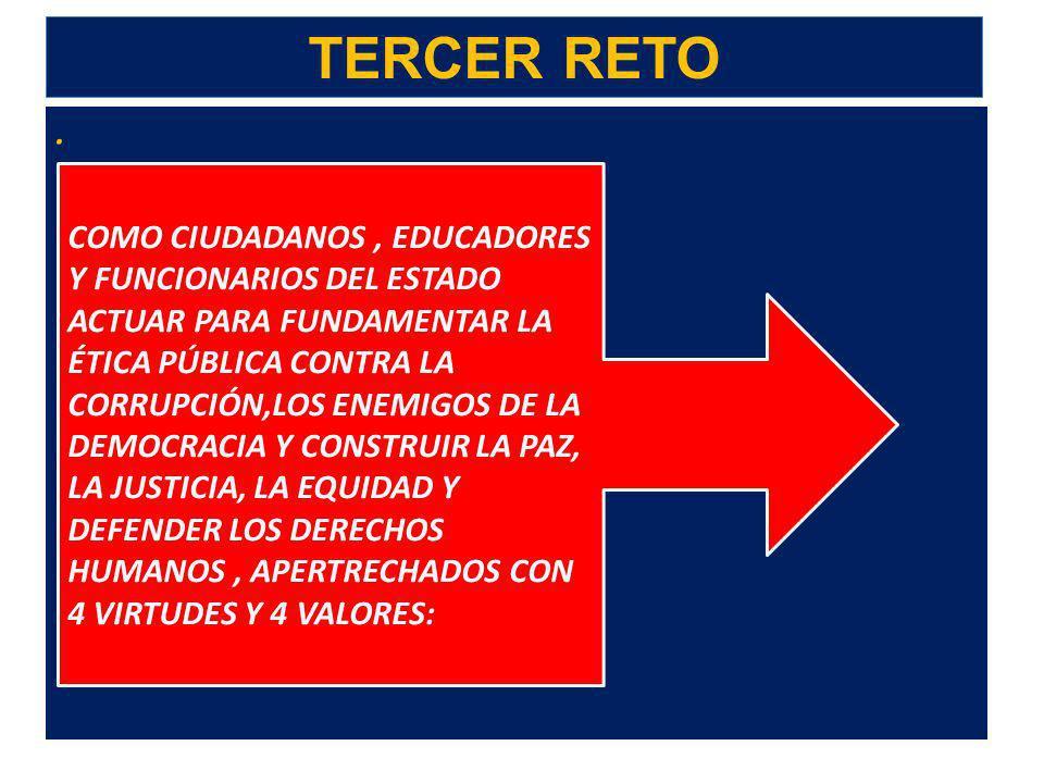TERCER RETO .