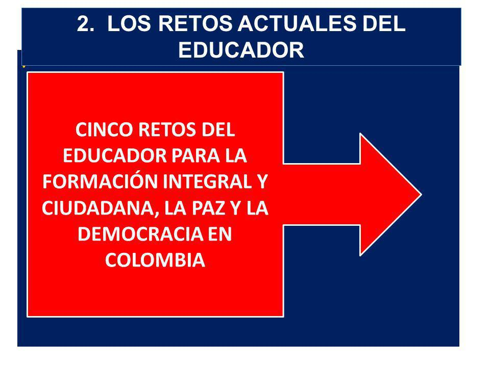 2. LOS RETOS ACTUALES DEL EDUCADOR