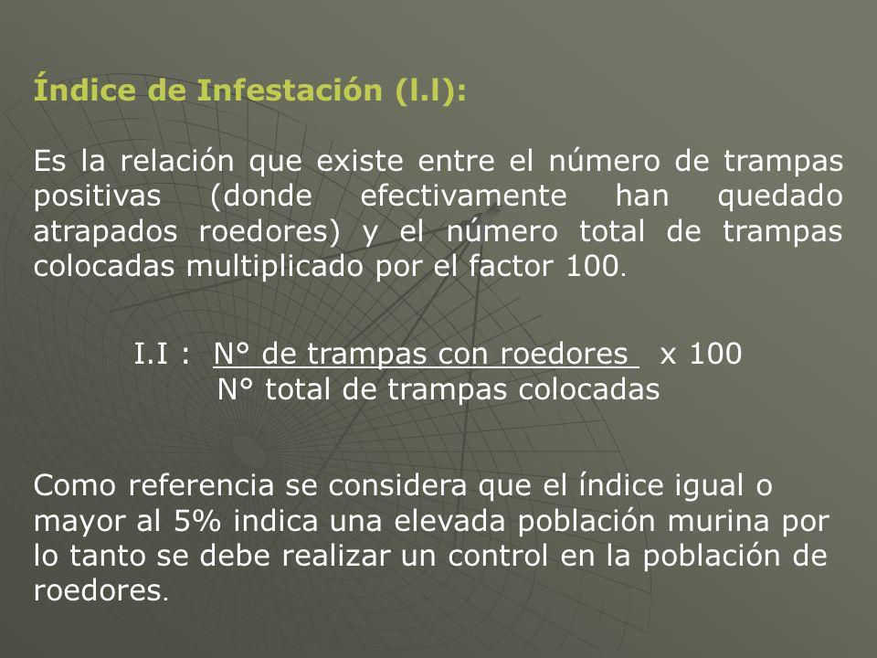 Índice de Infestación (l.l):