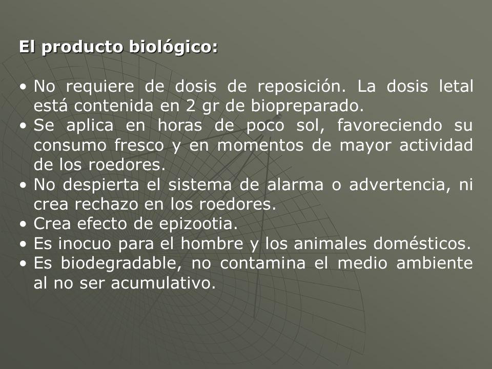 El producto biológico: