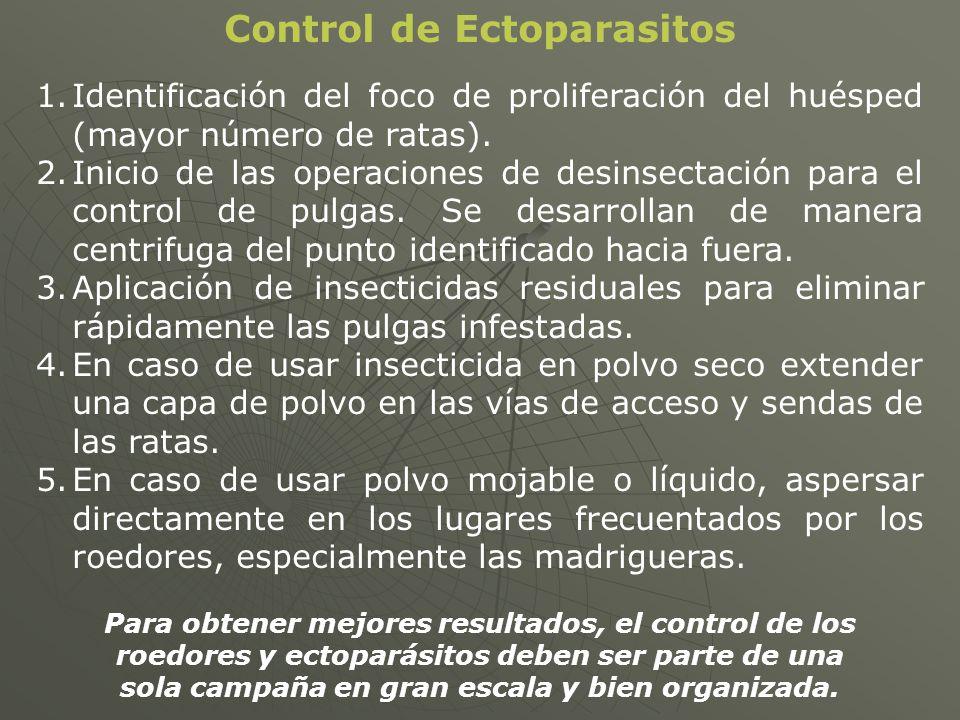 Control de Ectoparasitos