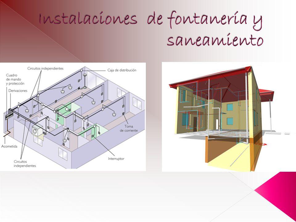 Instalaciones de fontanería y saneamiento