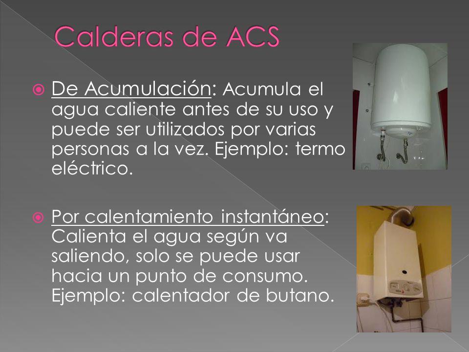 Calderas de ACS