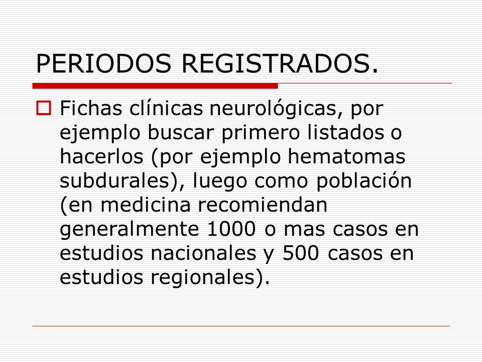 PERIODOS REGISTRADOS.