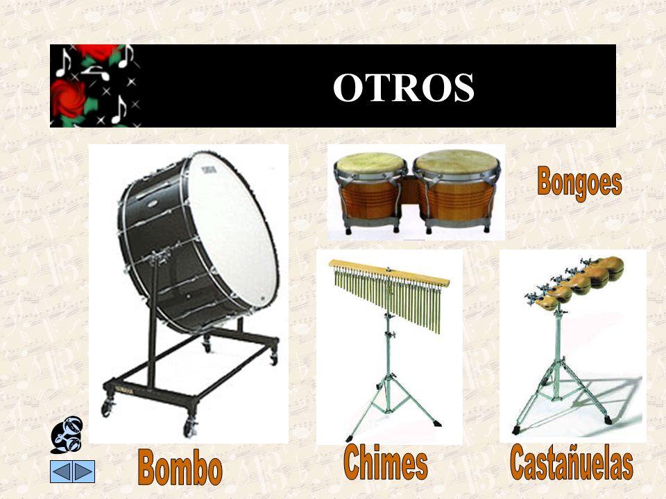 OTROS Bongoes Chimes Castañuelas Bombo