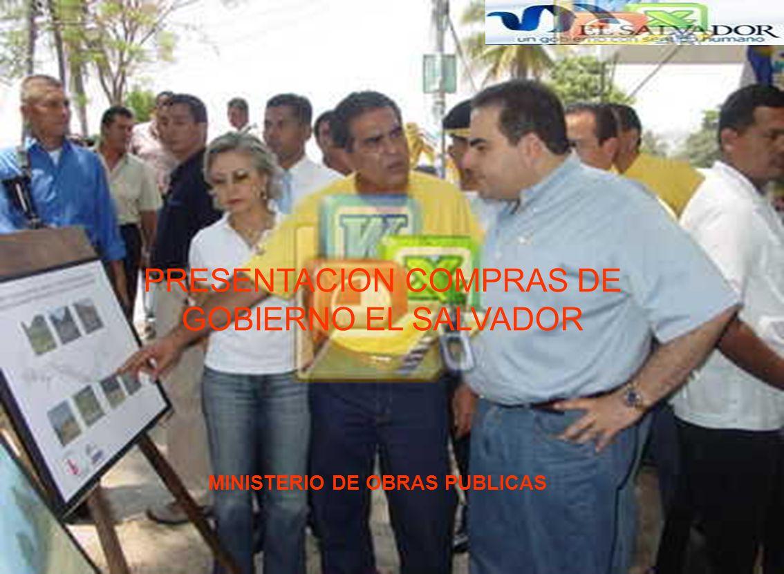 PRESENTACION COMPRAS DE GOBIERNO EL SALVADOR
