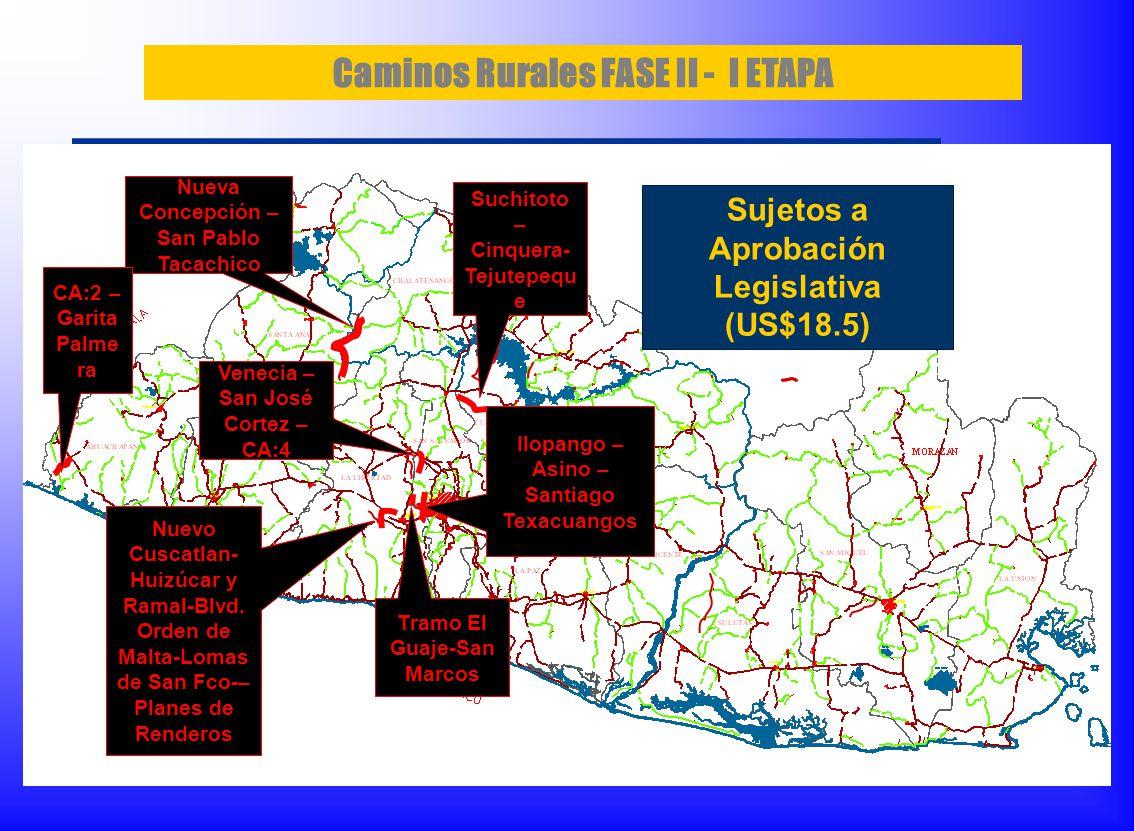 Caminos Rurales FASE II - I ETAPA