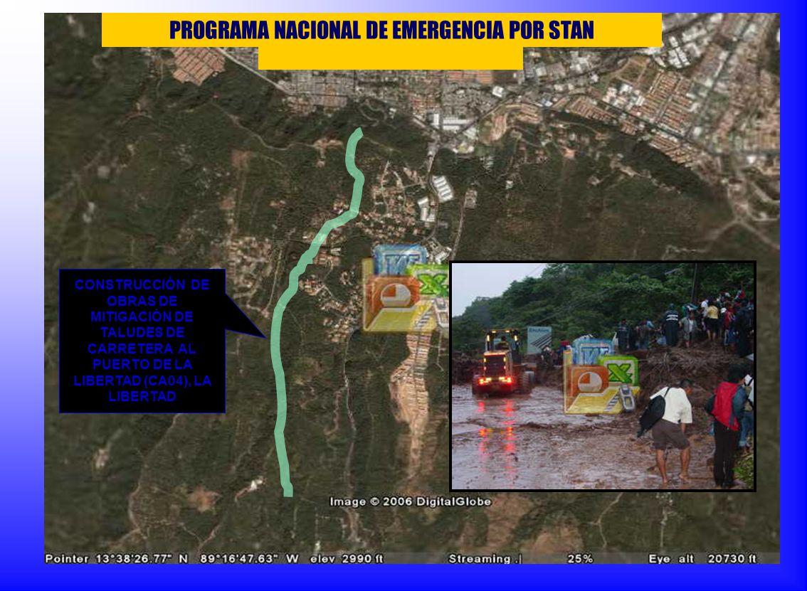 PROGRAMA NACIONAL DE EMERGENCIA POR STAN