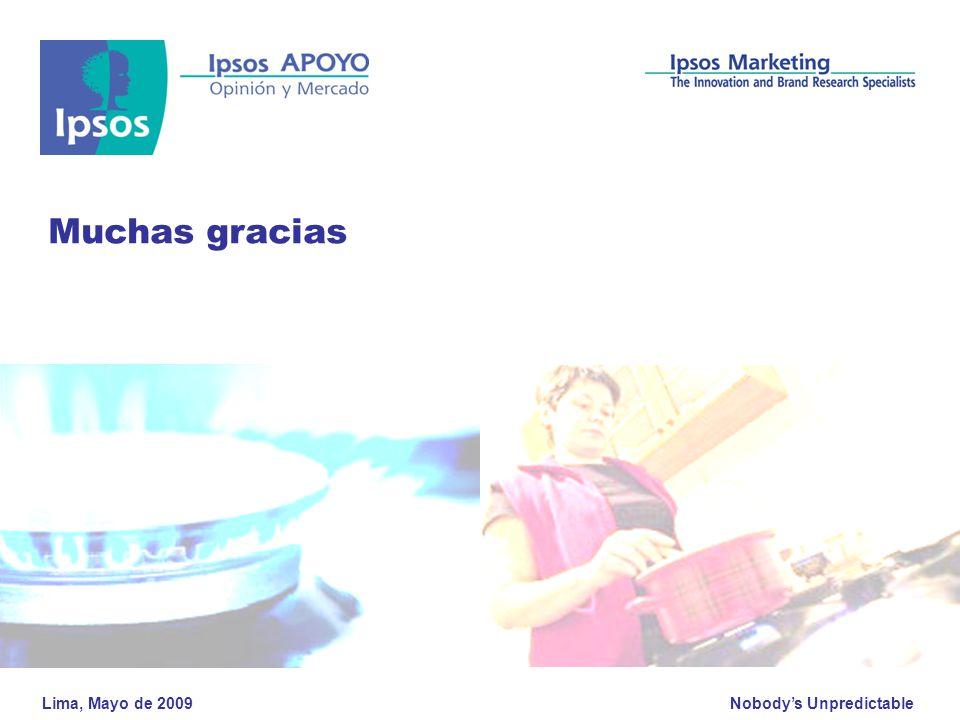 Muchas gracias Lima, Mayo de 2009