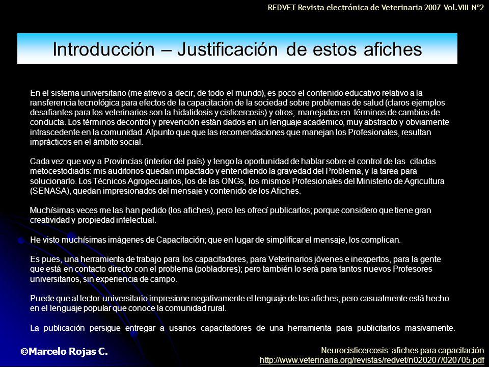 Introducción – Justificación de estos afiches