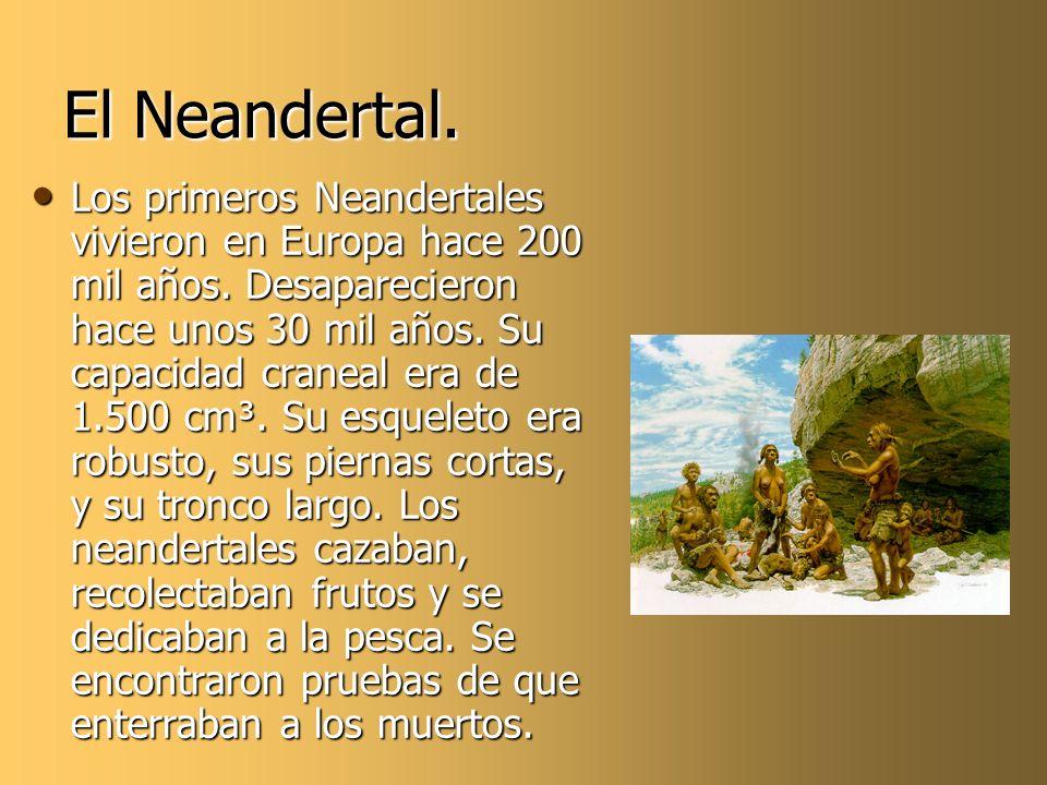 El Neandertal.