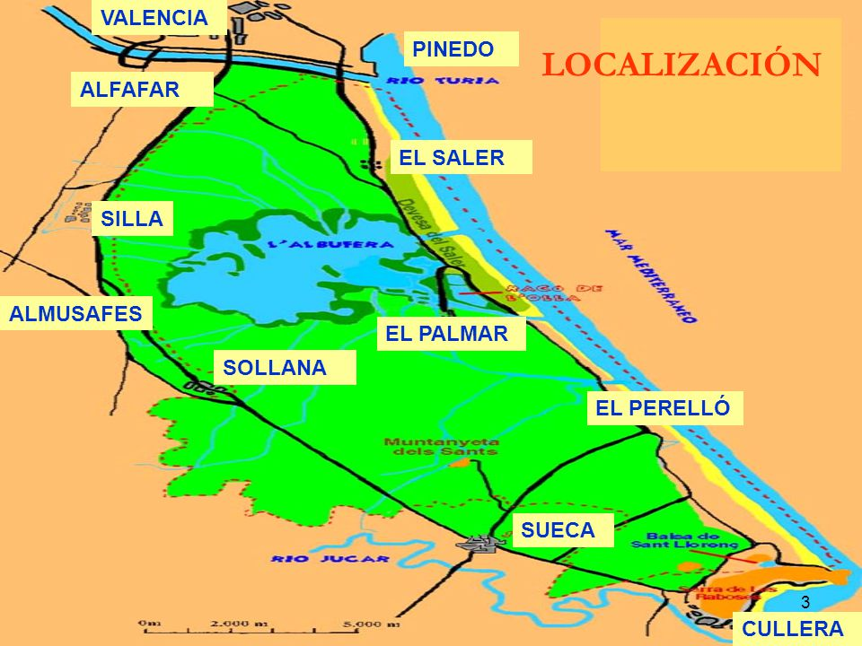 LOCALIZACIÓN VALENCIA PINEDO ALFAFAR EL SALER SILLA ALMUSAFES