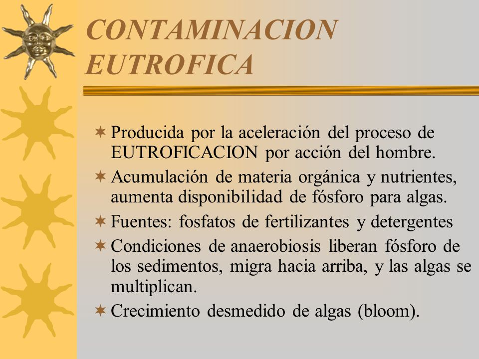 CONTAMINACION EUTROFICA