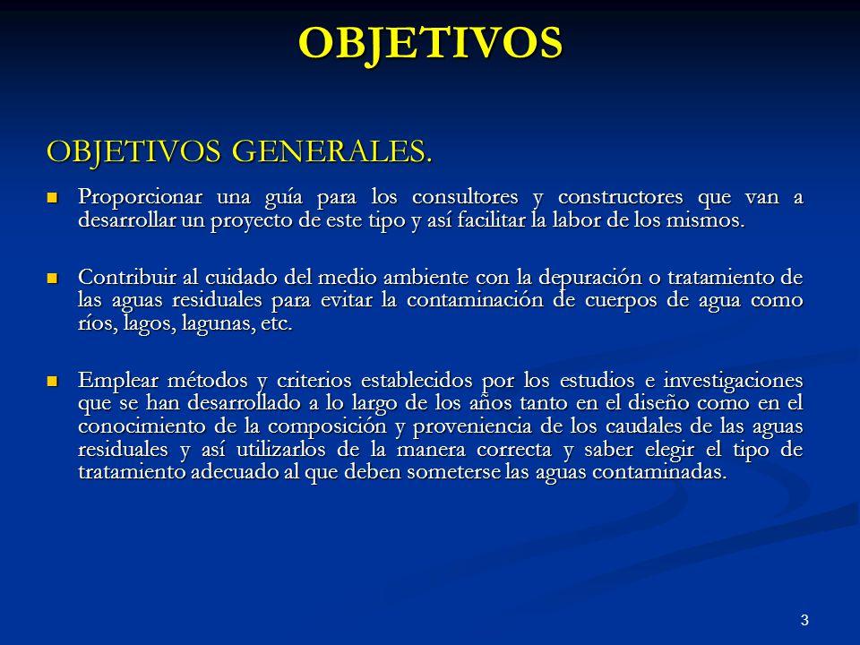 OBJETIVOS OBJETIVOS GENERALES.