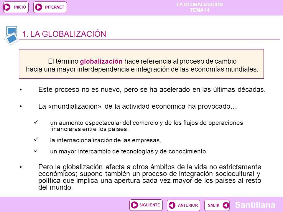 1. LA GLOBALIZACIÓN