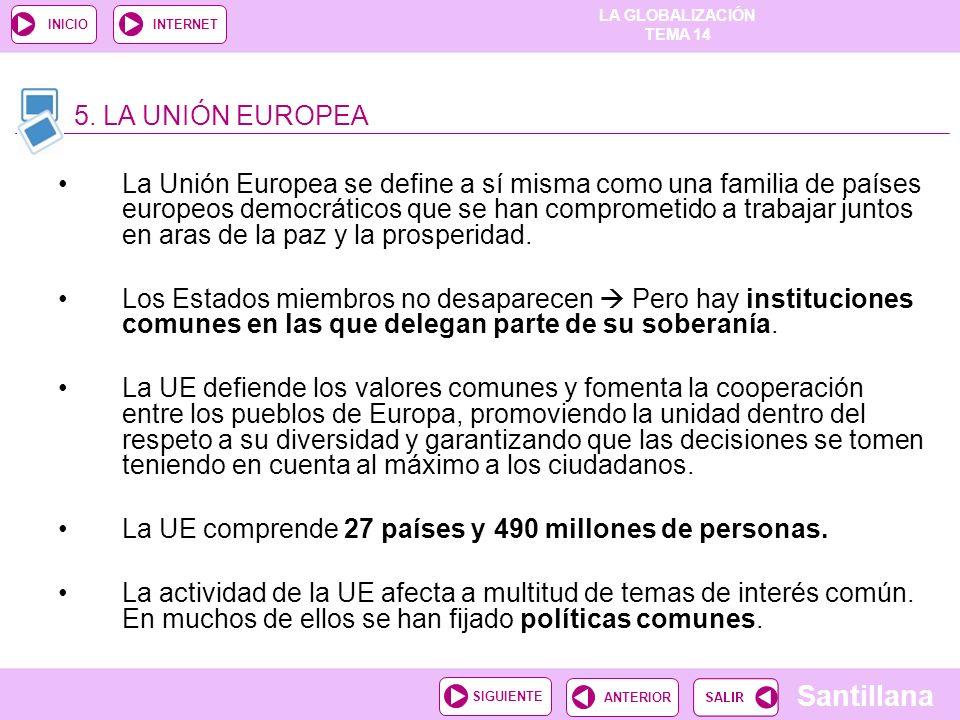 5. LA UNIÓN EUROPEA