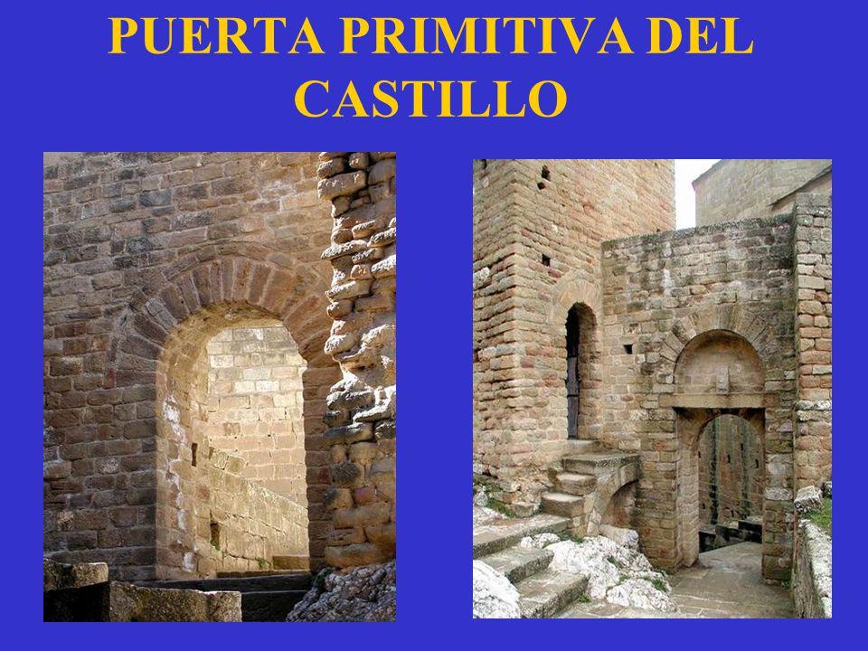 PUERTA PRIMITIVA DEL CASTILLO