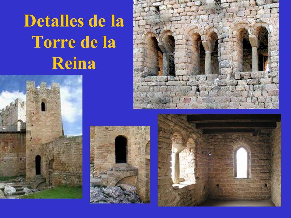 Detalles de la Torre de la Reina
