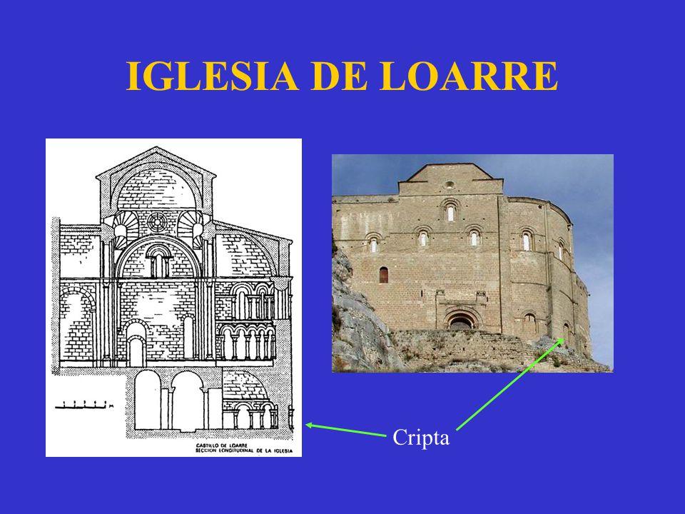 IGLESIA DE LOARRE Cripta