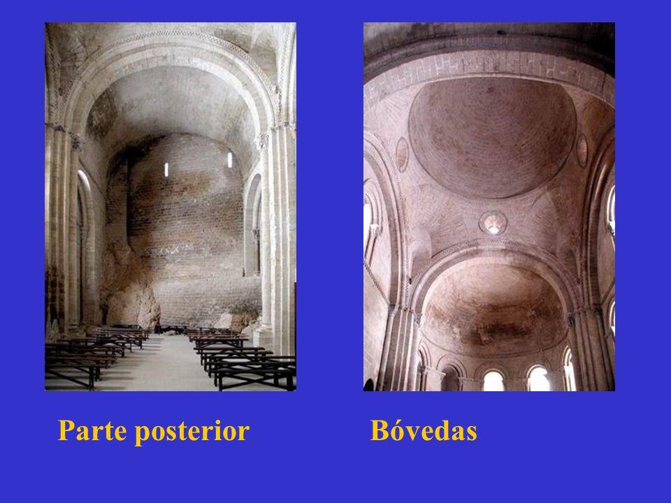 Parte posterior Bóvedas