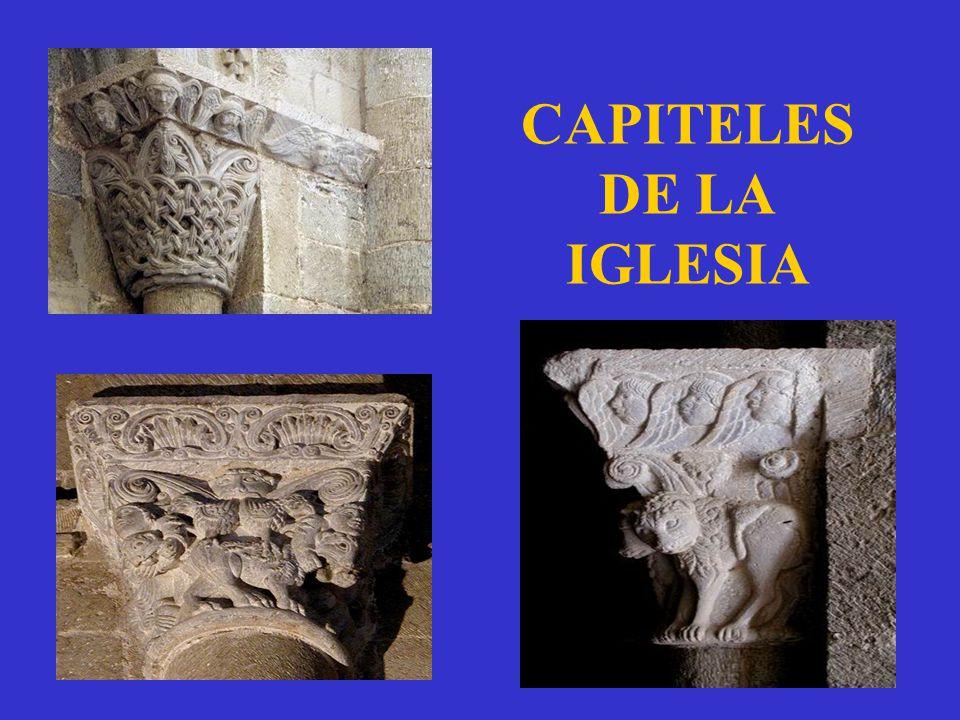 CAPITELES DE LA IGLESIA