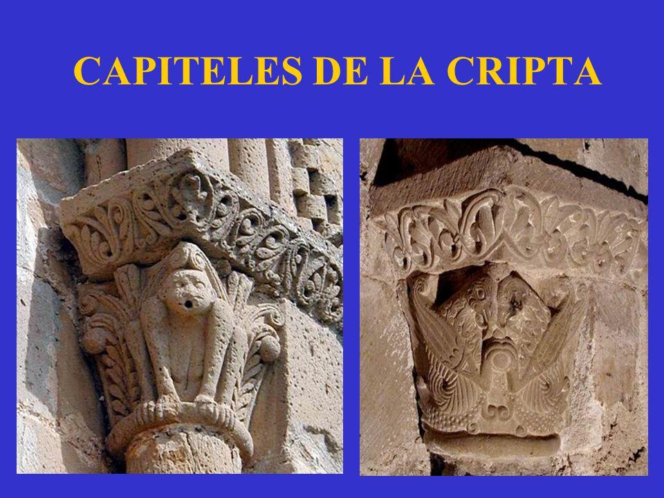 CAPITELES DE LA CRIPTA