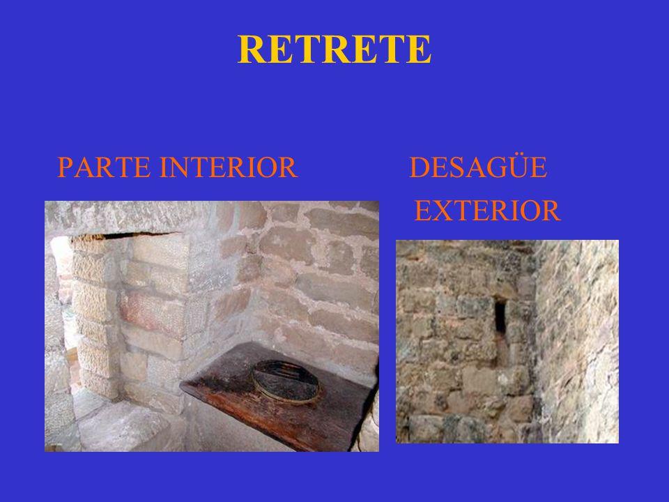 RETRETE PARTE INTERIOR DESAGÜE EXTERIOR