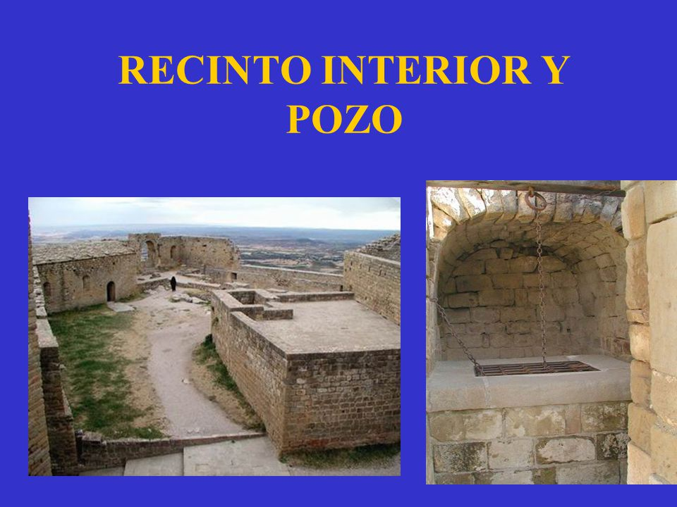 RECINTO INTERIOR Y POZO