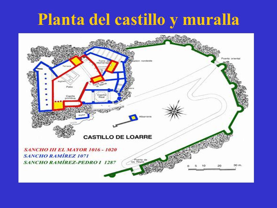 Planta del castillo y muralla