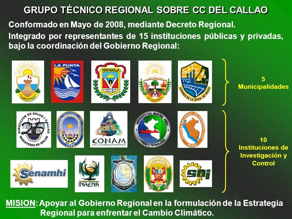 GRUPO TÉCNICO REGIONAL SOBRE CC DEL CALLAO
