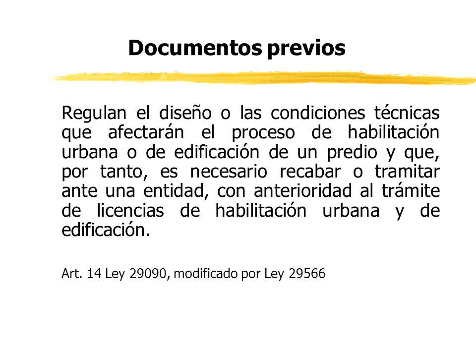 Documentos previos