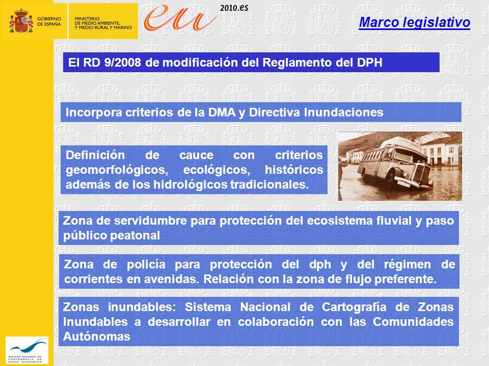 Marco legislativo El RD 9/2008 de modificación del Reglamento del DPH