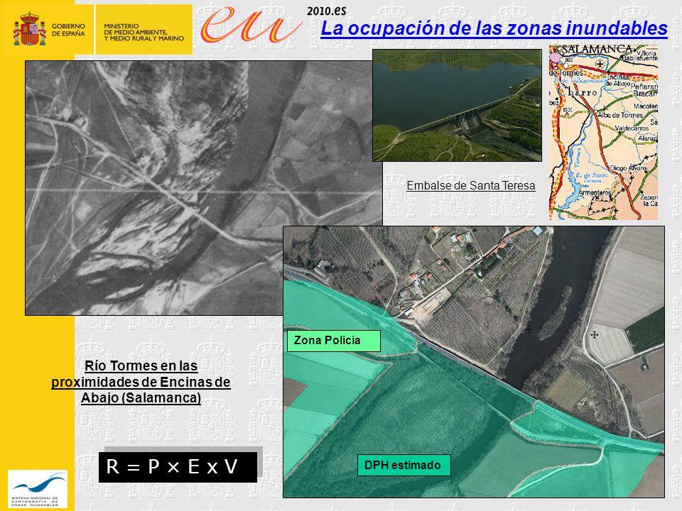 La ocupación de las zonas inundables