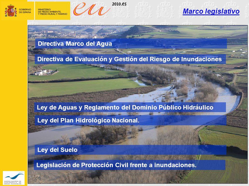 Marco legislativo Directiva Marco del Agua