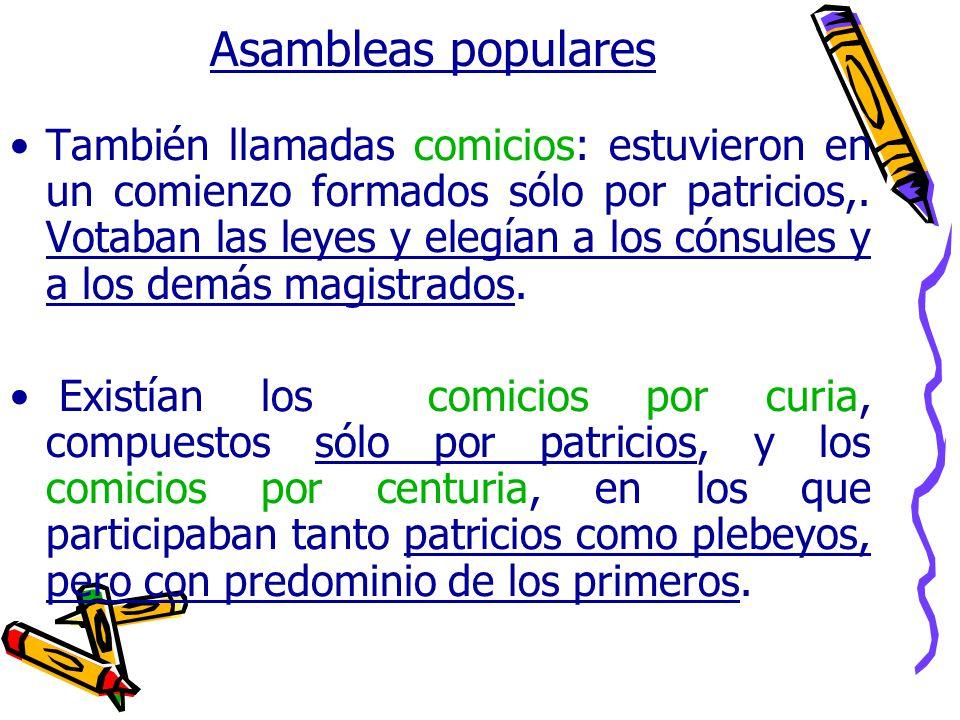 Asambleas populares