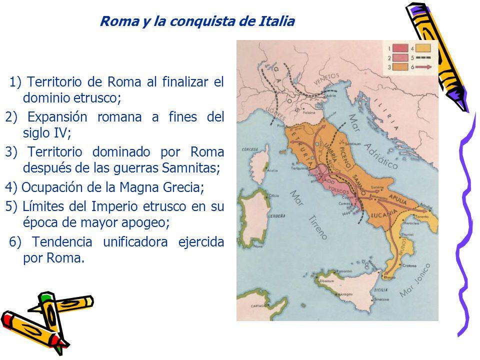Roma y la conquista de Italia