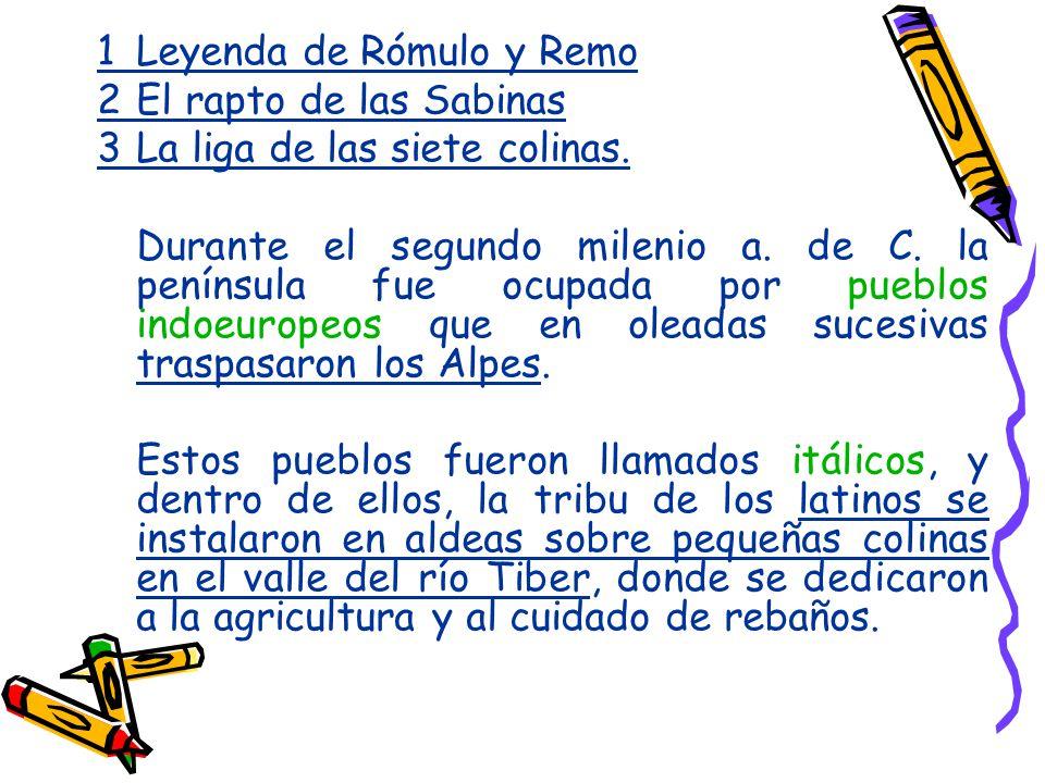 1 Leyenda de Rómulo y Remo