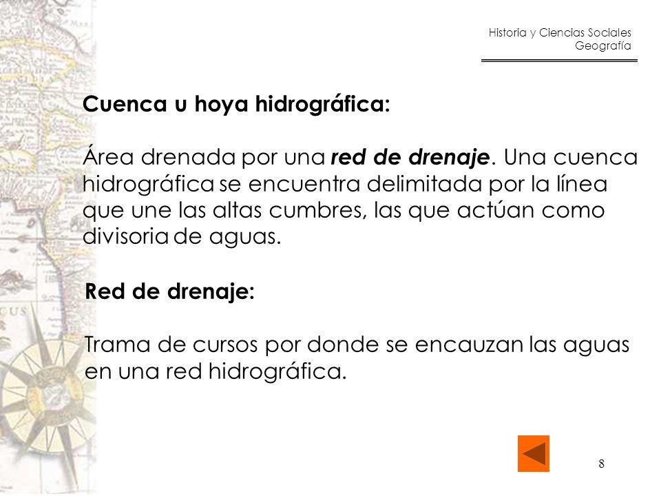 Cuenca u hoya hidrográfica: