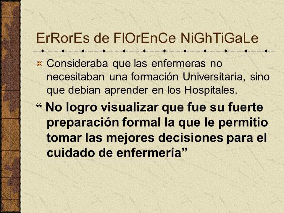 ErRorEs de FlOrEnCe NiGhTiGaLe