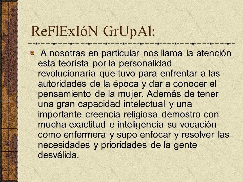 ReFlExIóN GrUpAl: