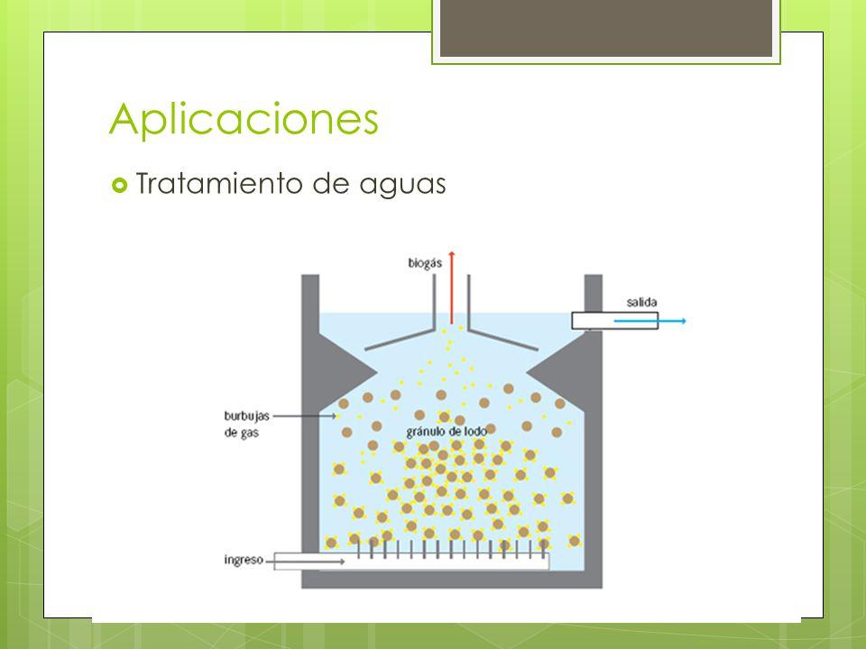 Aplicaciones Tratamiento de aguas