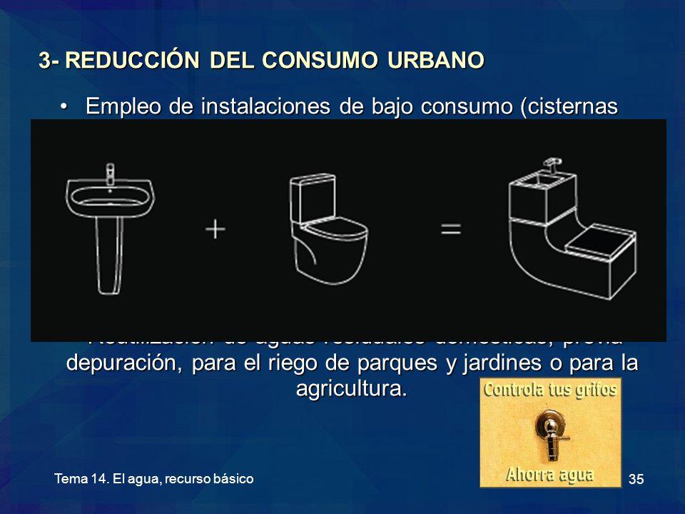 3- REDUCCIÓN DEL CONSUMO URBANO