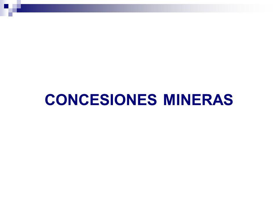 CONCESIONES MINERAS 20